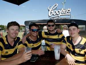 Matthew Krahe, Jack Cowin, Grant Townes and Kurt
