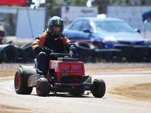 Mower racing: D Grade, Quillin Ryan.