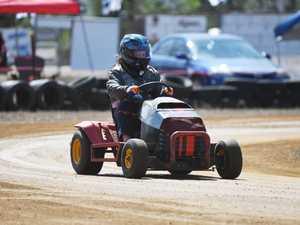 Mower racing: D Grade, Sharon Conway.