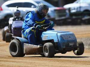 Mower racing: D Grade, Rick Ryan.