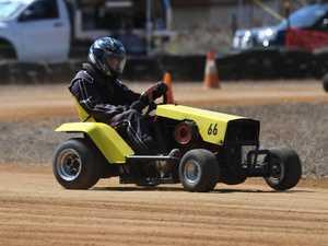 Mower racing: C Grade, Slade Rawlinson.