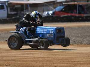 Mower racing: B Grade, William Creed.