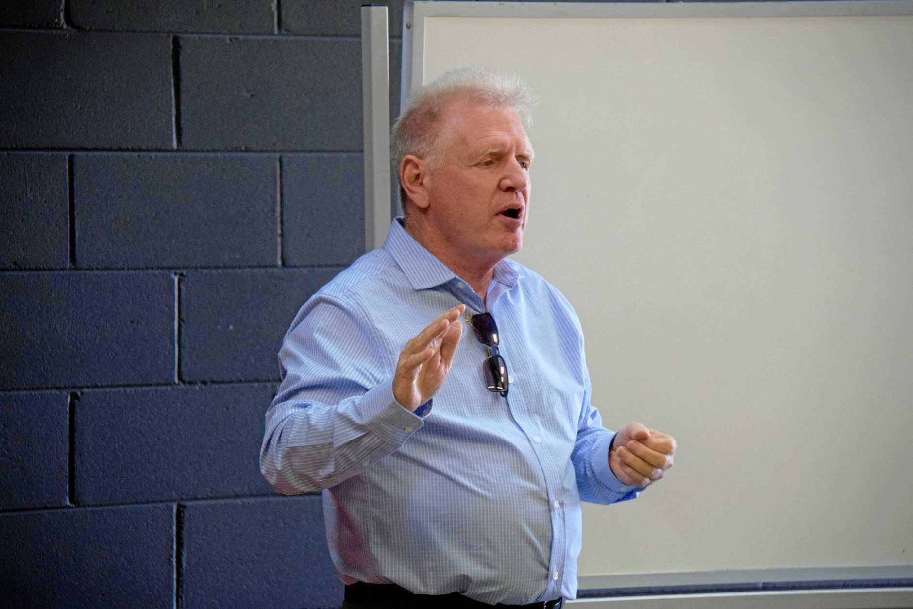 Group coordinator, Stephen Carter.