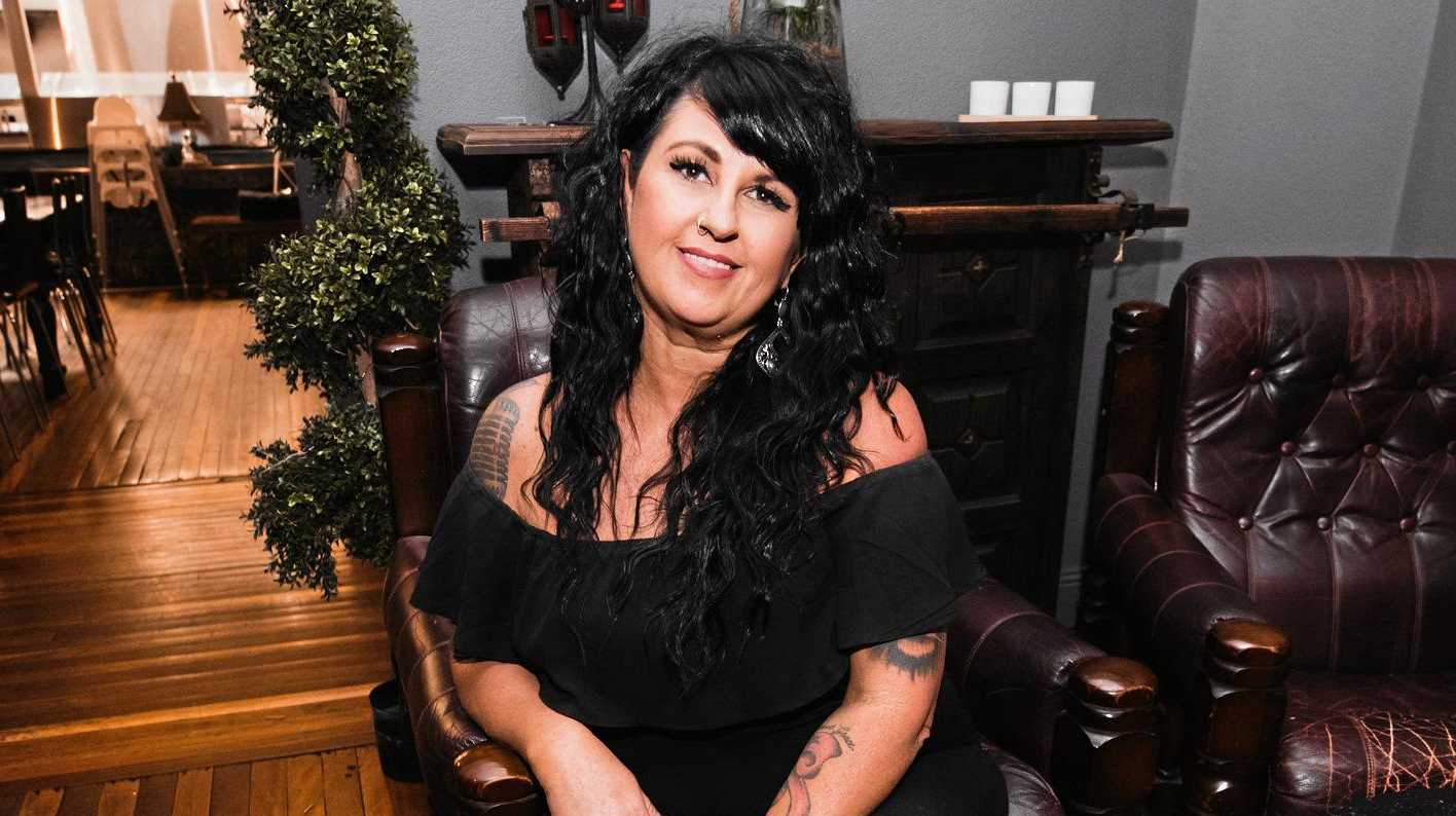 Stacey Lowe is the part-owner and manager of the Royal Hotel in Gympie.