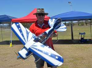 Aero modellers travel across southeast to Kingaroy fly-in