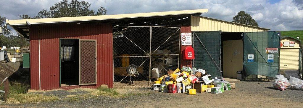 NOT RUBBISH: Kyogle Tip Shop opening soon.