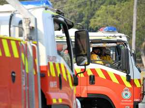 Fireys find burning house on way to fight bushfires