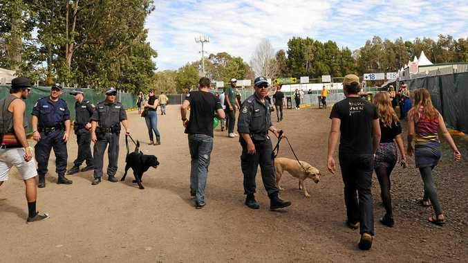 Strip search of 16-year-old girl at Splendour 'humiliating'