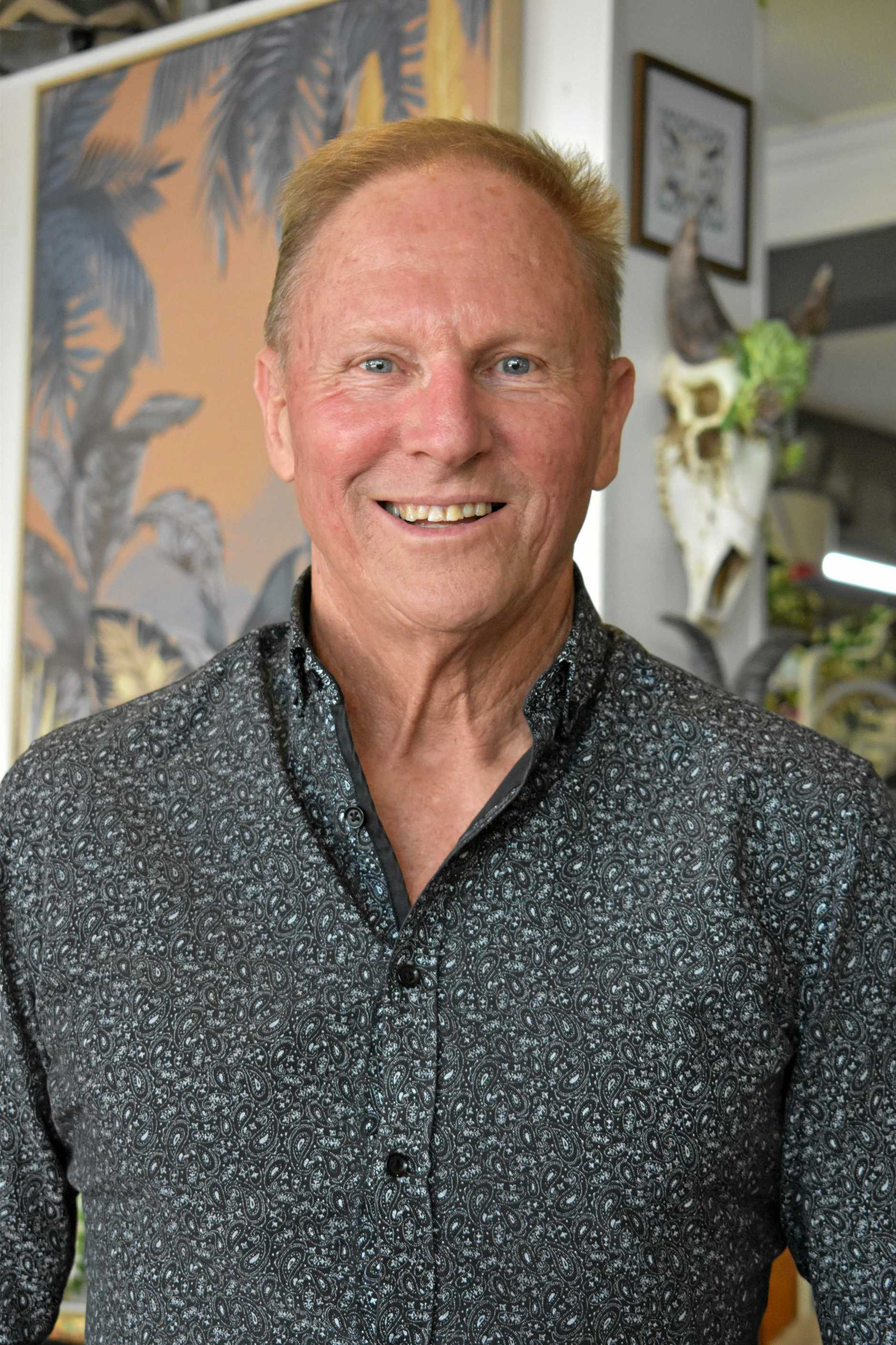 Sitting in the number 7 spot for the 2019 Power 30 is Gympie Chamber of Commerce president Tony Goodman.