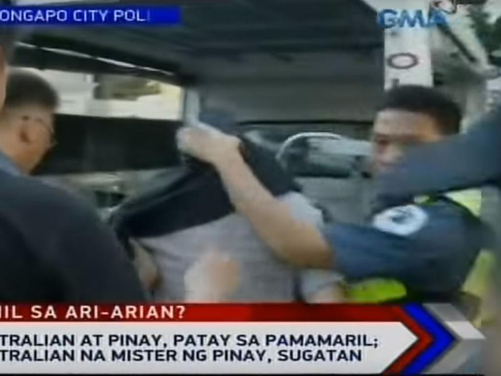 Police arrested Michael McClaren at a hotel three hours after the shooting. Picture: GMA Network