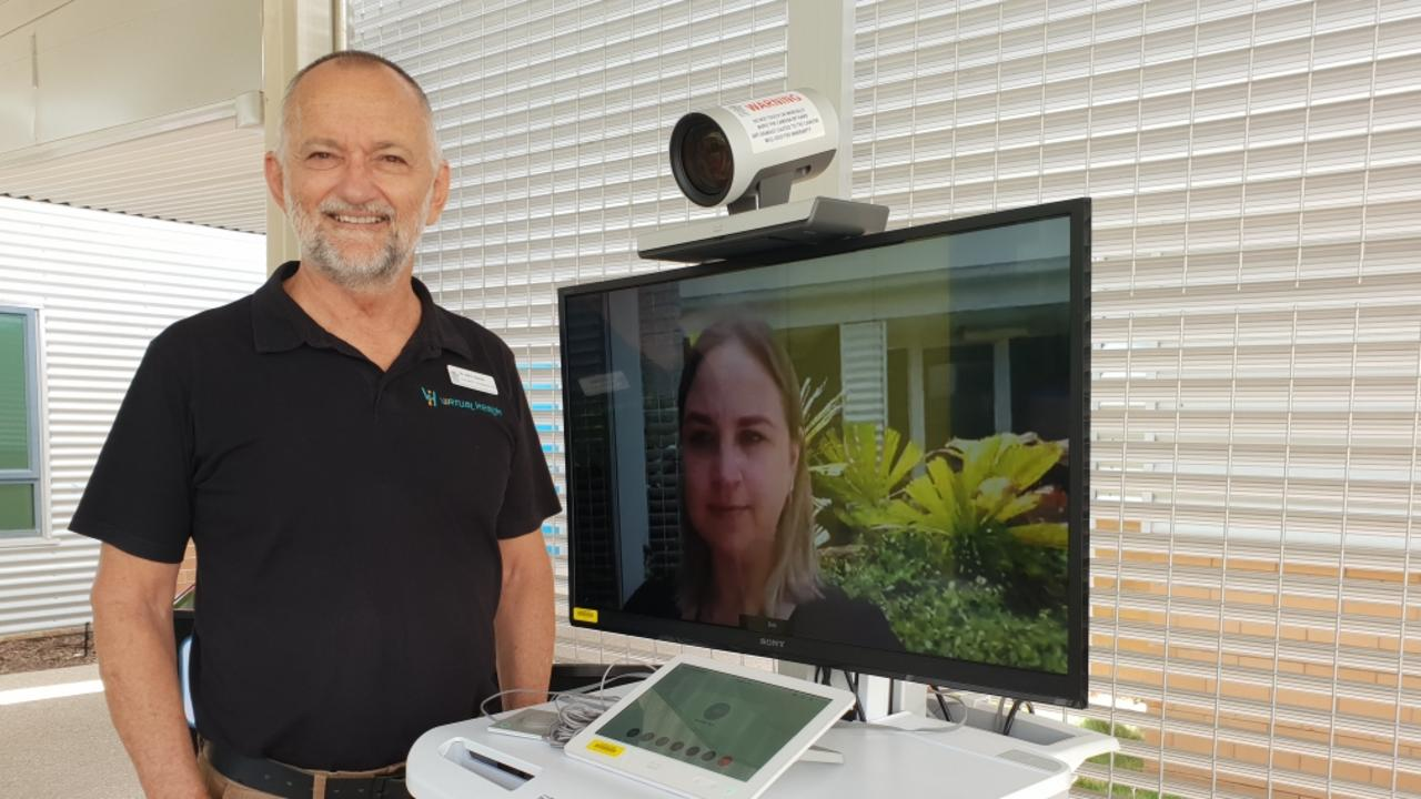Dr John Hadok has been impressed by the improving capabilities of telehealth.