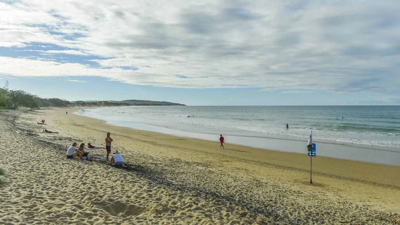Agnes Water main beach pictured earlier this year.