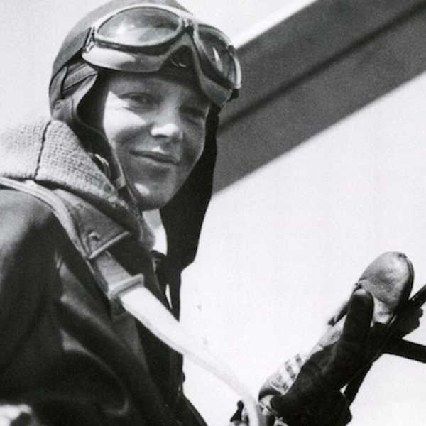 Earhart was the first female aviator to fly solo across the Atlantic Ocean.