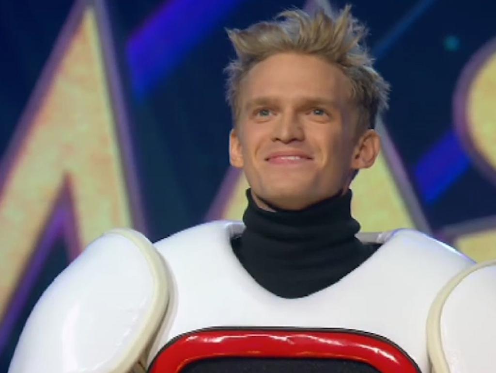Cody Simpson is the robot.