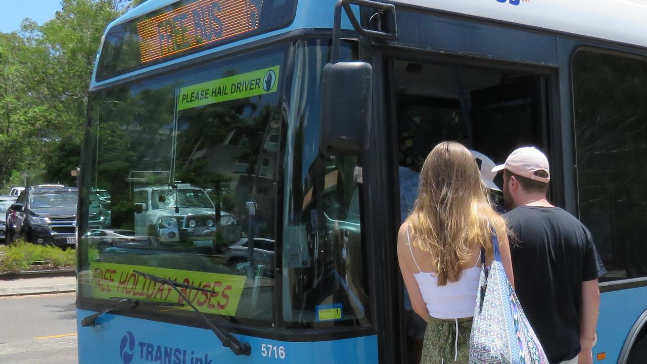 The free Noosa holiday bus service will run from December 14 to January 27.