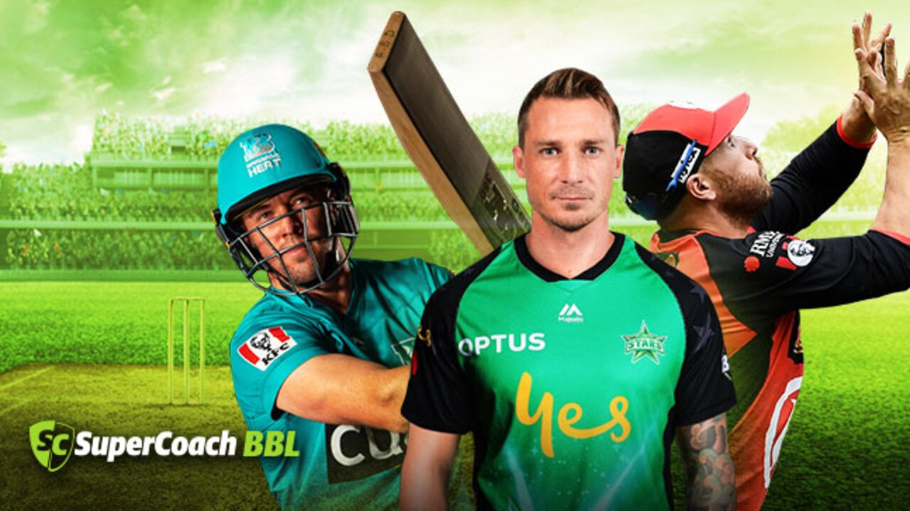 (L-R) AB De Villiers, Dale Steyn and Aaron Finch are key players in BBL09.