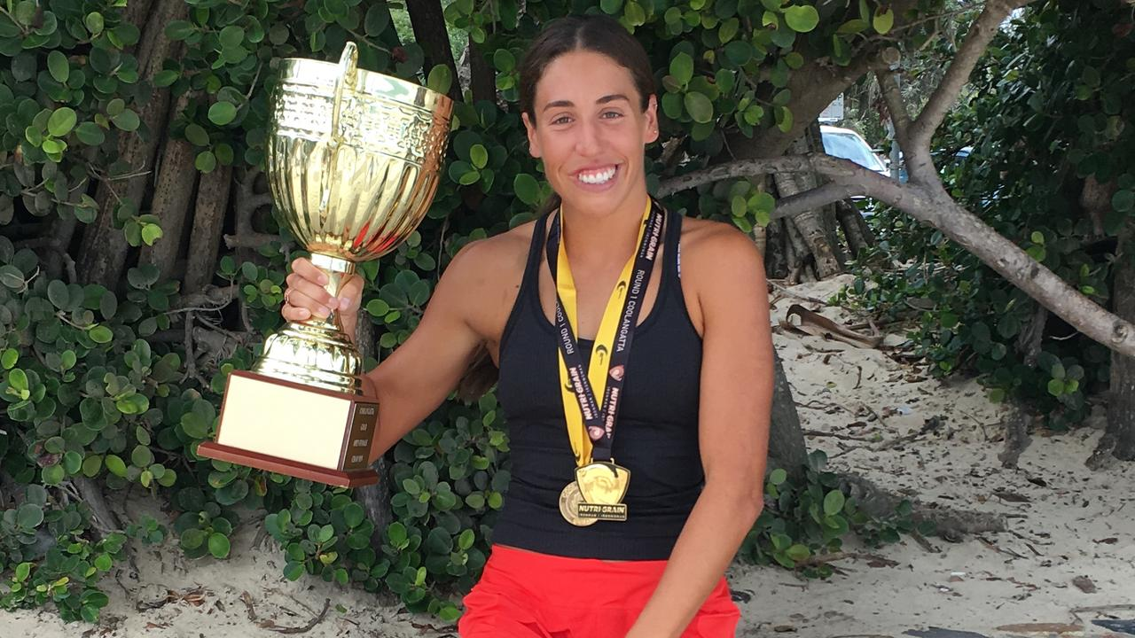 WINNER: Coolangatta Gold winner Lana Rogers will speak to more than 800 Noosa nippers.