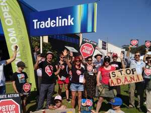 Climate activists target companies linked to Adani