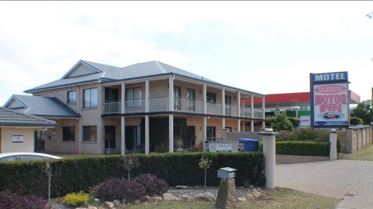 The Clifford Gardens Motor Inn in Toowoomba is on the market.