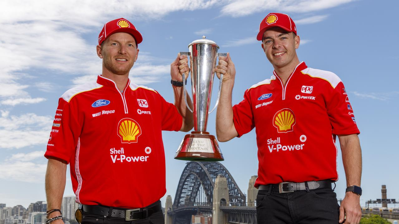 Scott McLaughlin (right) and Alex Premat are officially Bathurst 1000 winners.
