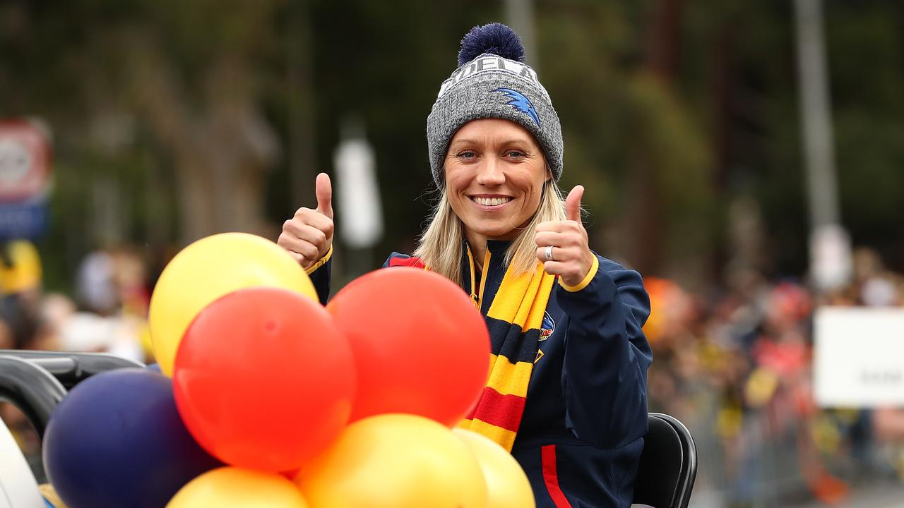 Two-time league best and fairest winner Erin Phillips had expressed her support for the original deal. Picture: Getty Images