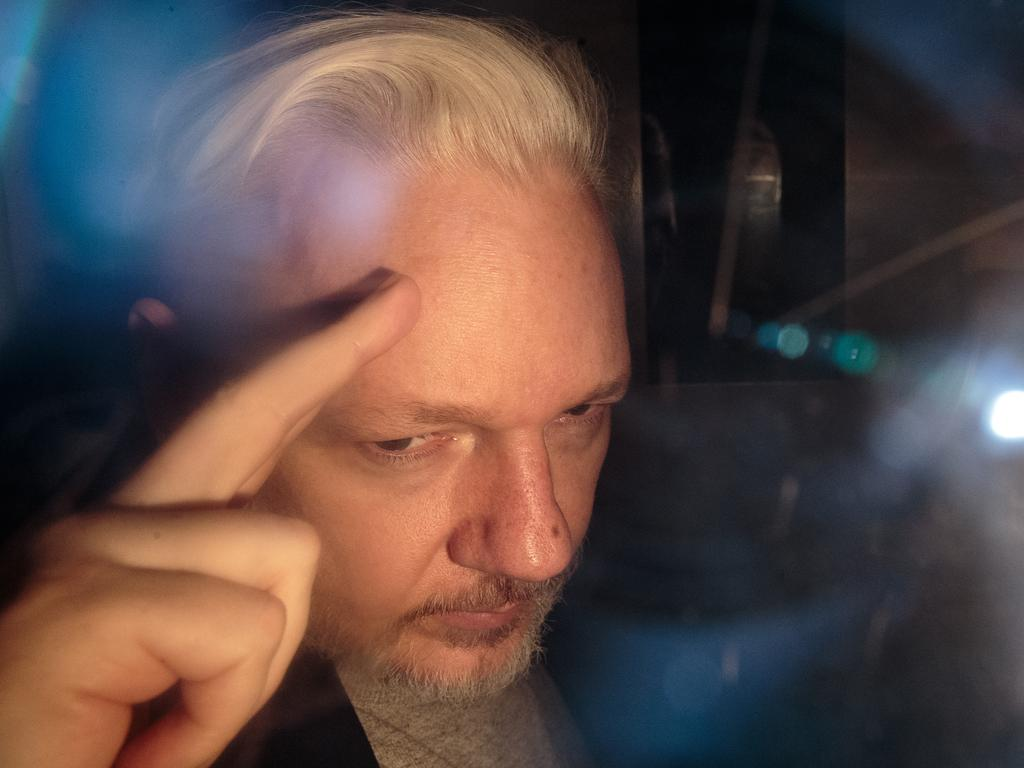 Wikileaks Founder Julian Assange has been denied a delay to extradite him to US to face conspiracy charges after his whistleblowing website WikiLeaks published classified US documents. Picture: Getty Images
