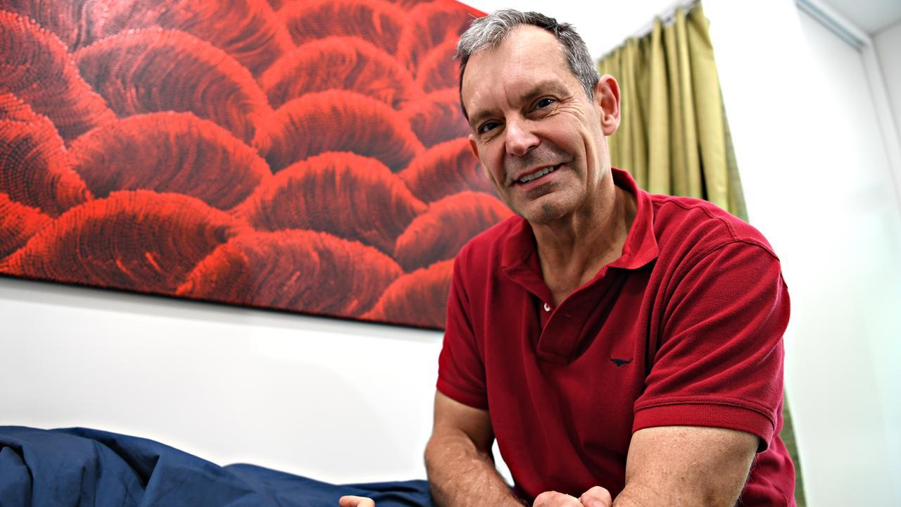 POO POWER: Dr Johan Van Den Bogaerde is working on a faecal microbiota transplant program on the Sunshine Coast. Photo: Warren Lynam