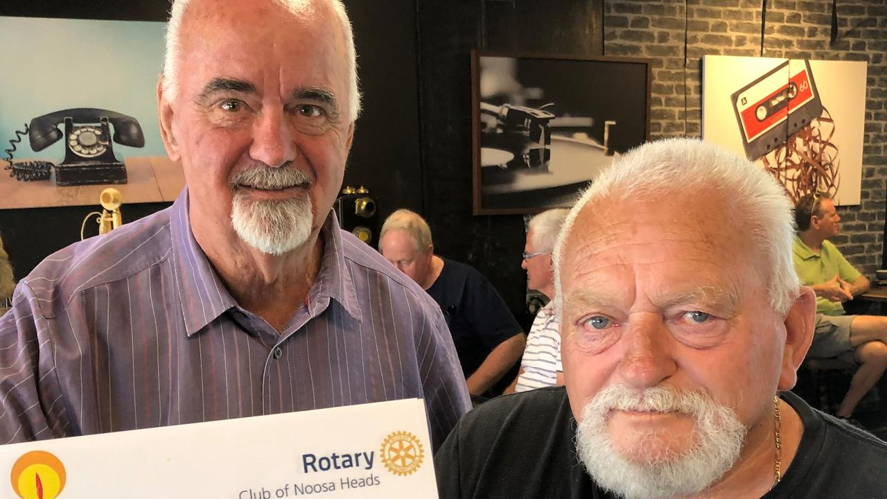TRAUMA: Bob Birkhead and Garry Church will be part of Noosa's inaugural World Remembrance Day for Road Traffic Victims.