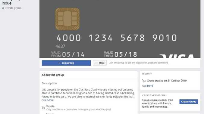 Facebook group helps get around Cashless Card restrictions