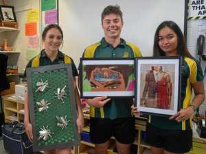 Students mark the Passage of Time with art exhibit
