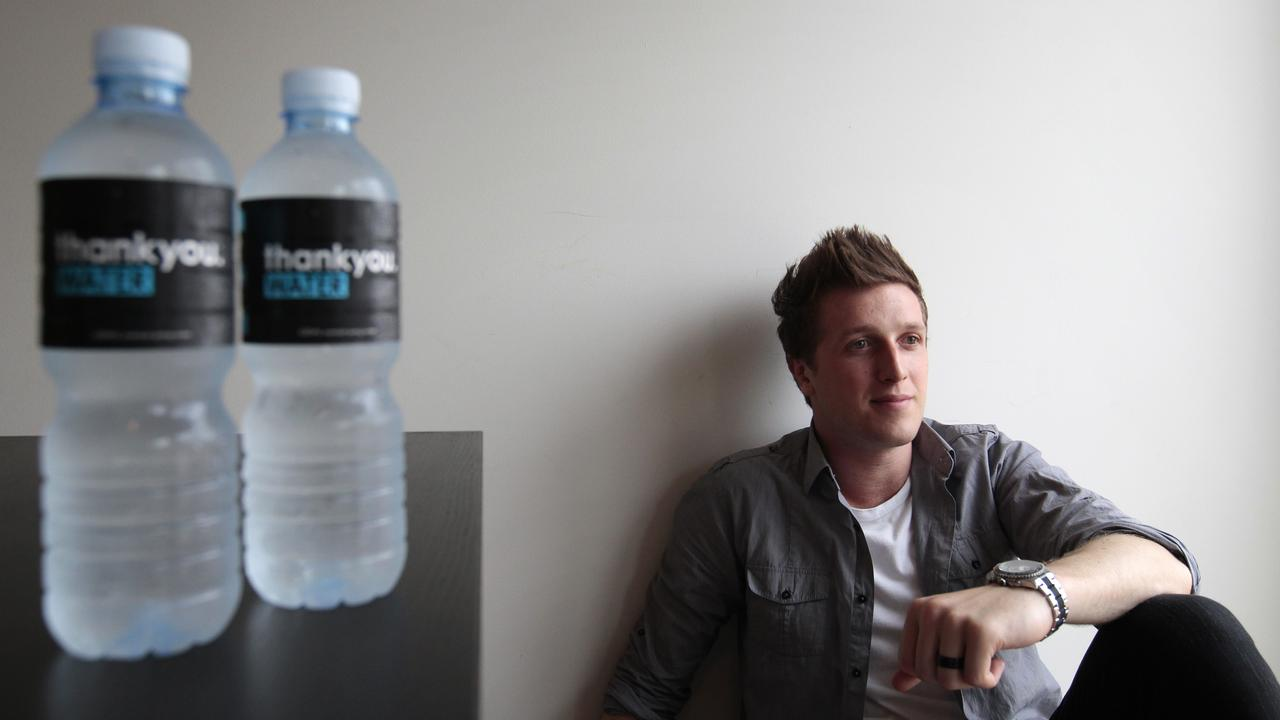 Daniel Flynn founded Thankyou Water in 2008.