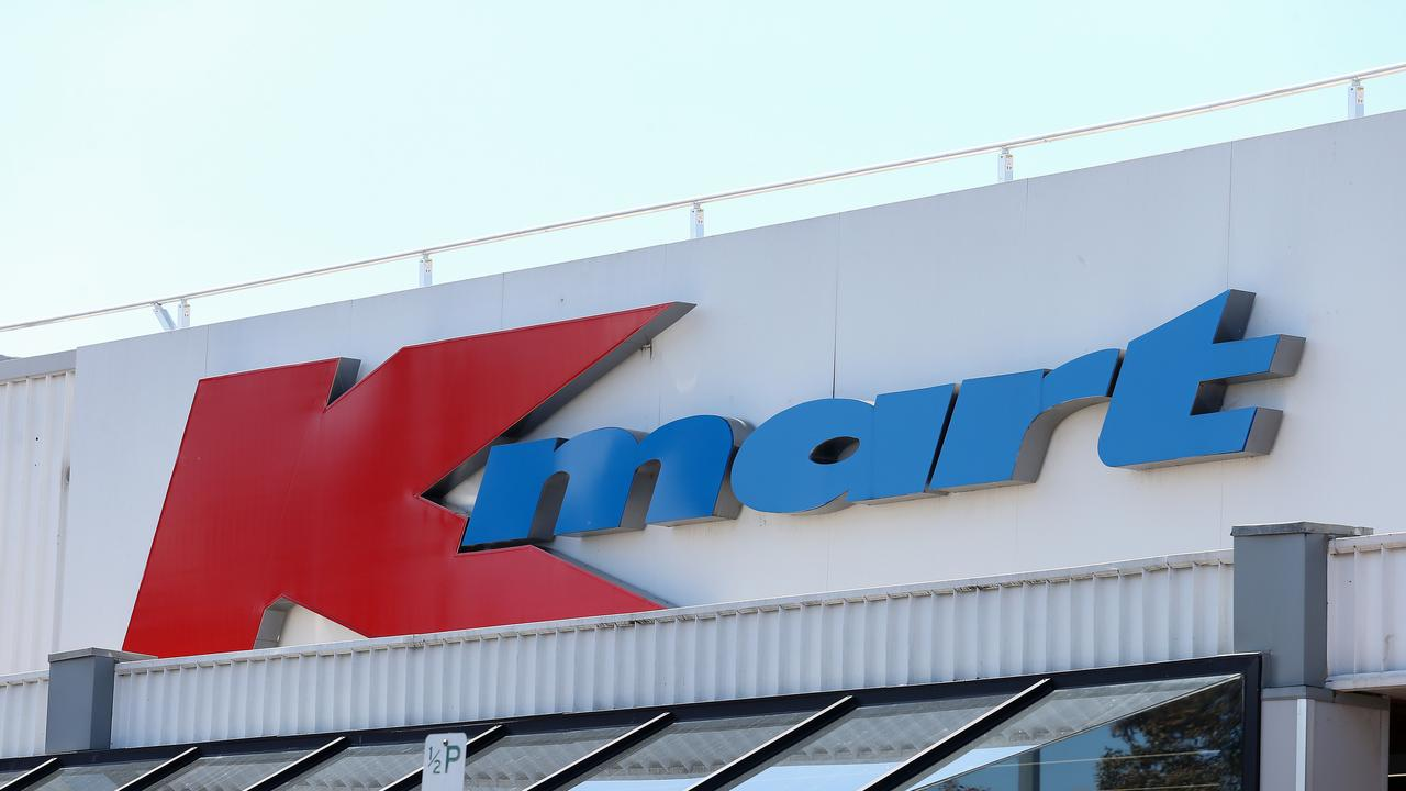 Kmart pulled the bride costume from shelves on Tuesday afternoon. Picture: George Salpigtidis