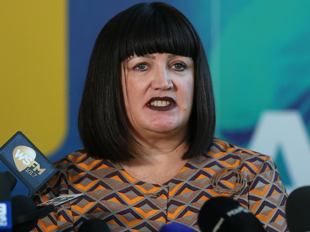 Raelene Castle says a change in management structure is the reason behind her divide with Cheika.