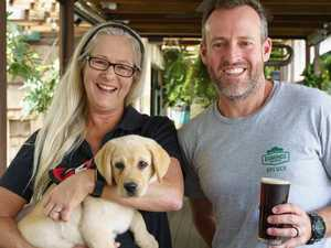 Brewers froth over helping pups