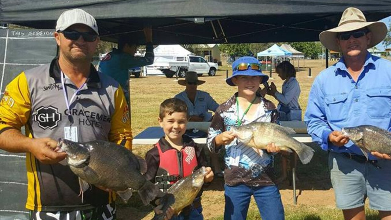 OPEN SEASON: The Lake Callide Family Fishing Classic attracts hundreds of keen fishers young and old.