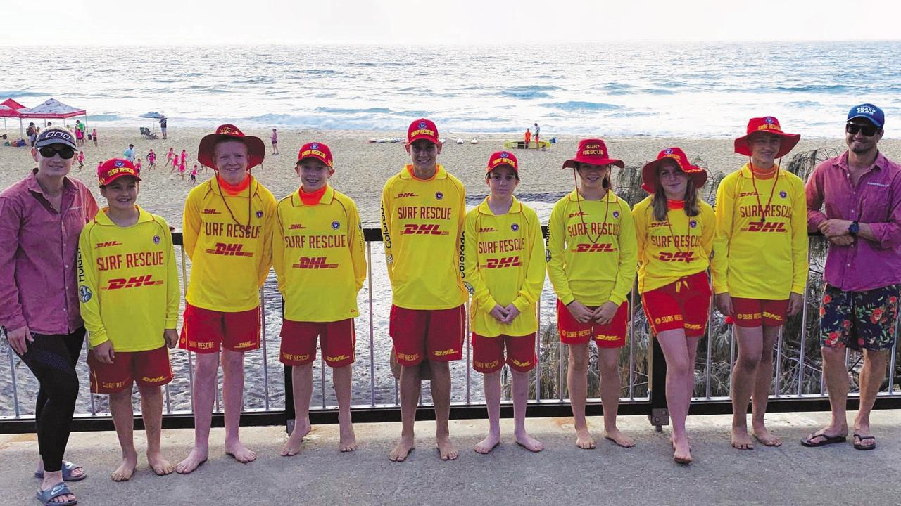 Fresh young lifesaving talent for Sunshine Beach SLSC.