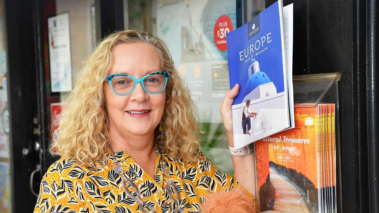 Cheryl Ryan owner of 123 Travel, Buderim. Photo Patrick Woods / Sunshine Coast Daily.