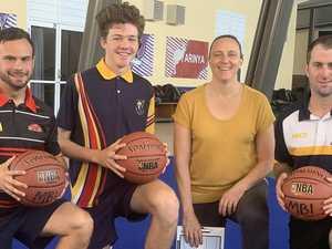 Basketball legend inspires Mackay's rising stars