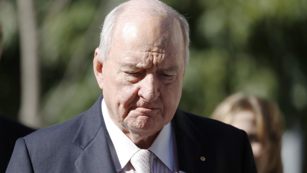 Alan Jones apologised to Ardern in August. Picture: AAP