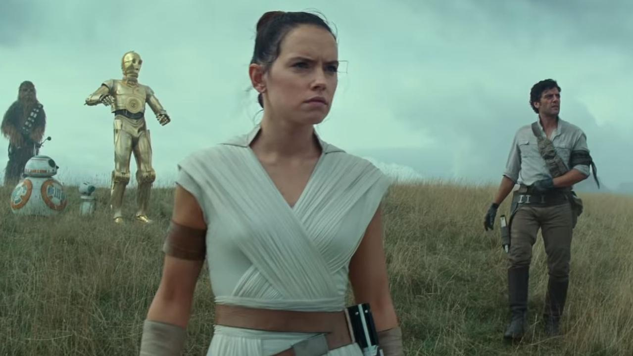 Daisy Ridley plays Rey. Picture: YouTube