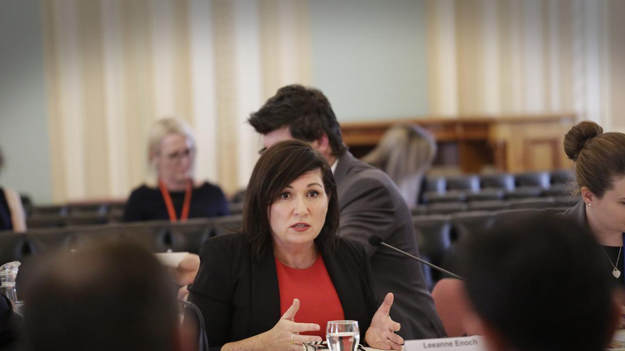 Environment Minister Leeanne Enoch. (Photo AAP/Megan Slade)