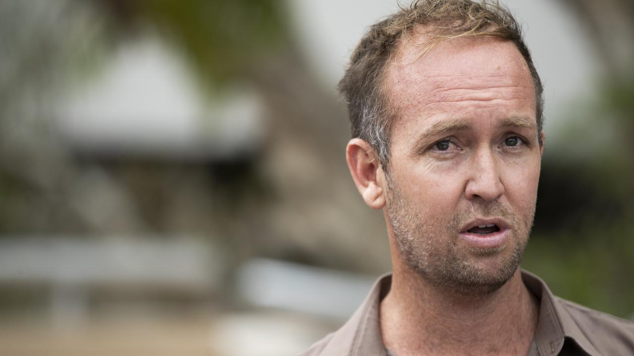 A remorseful Noosa Councillor Jess Glasgow rejects calls to resign from his position after his performance on the reality TV show The Bachelorette. Photo Lachie Millard