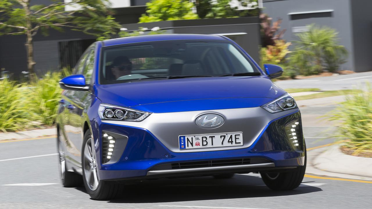 The Hyundai Ioniq comes in standard hybrid, plug-in hybrid and full electric versions.