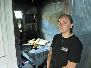 Family's desperate search for home after Toowoomba fire