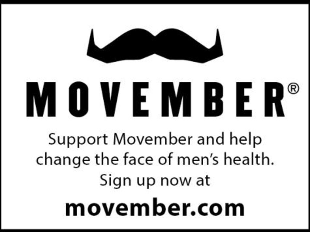 Sign up now and help change the face of men's health.