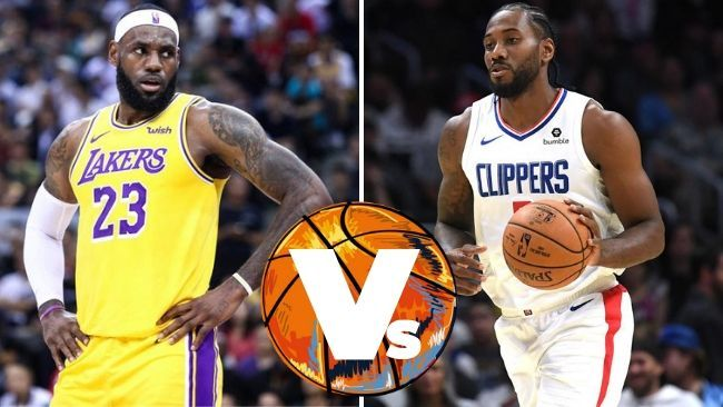 It's LeBron James v Kawhi Leonard in an LA showdown.