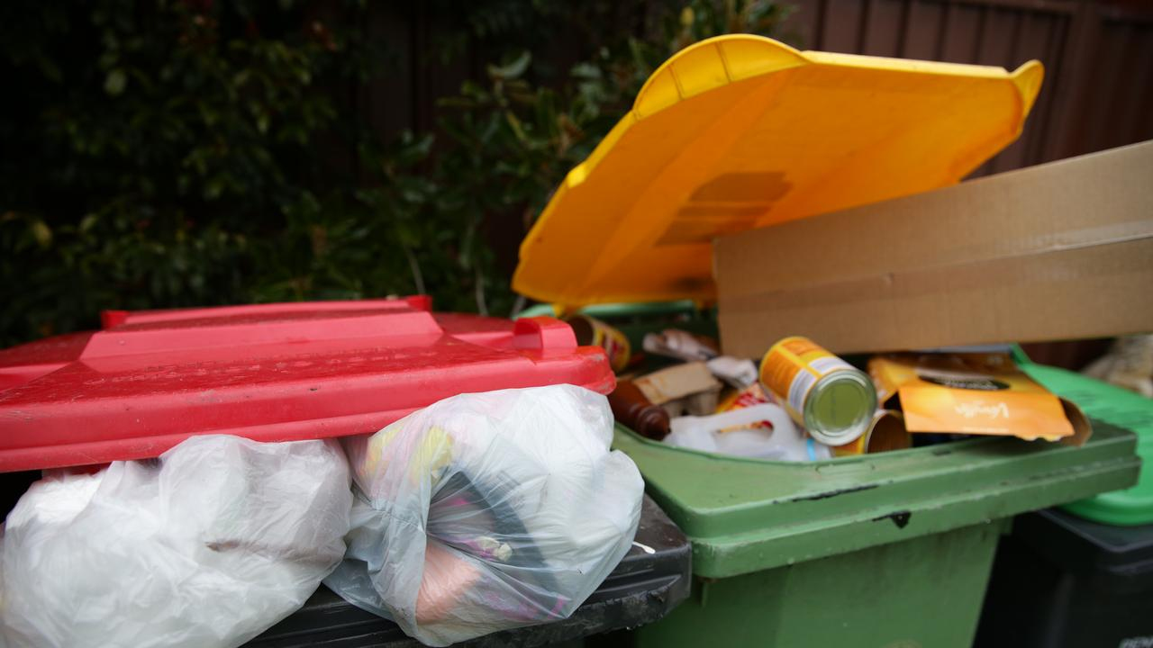 Picnickers tipped off Helidon police when they saw someone crash a car into a council bin in a park.