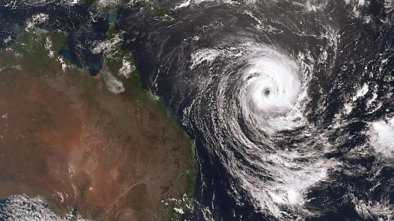 Tropical cyclone Oma in a BOM satellite picture from February 2019.