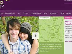 Council's sex ed website slammed