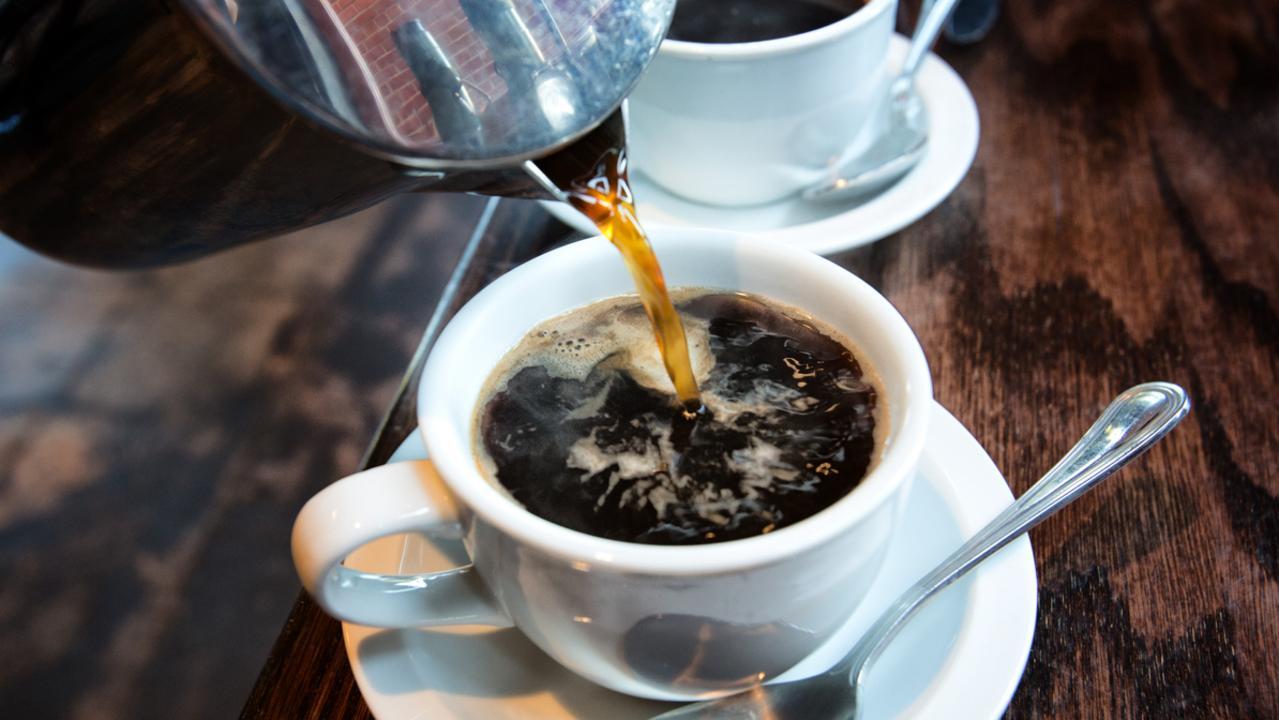 Mmm … fresh coffee.